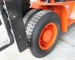 Double roue avant pour